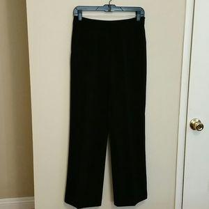 WHITE AND BLACK DRESS PANTS.